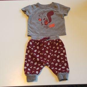 Cat & Jack Infant Outfit